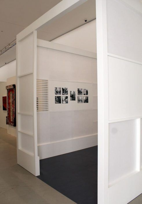 """Ausstellungsansicht """"Hundertwasser, Japan und die Avantgarde"""", Belvedere, Orangerie, 6.3.-30.6.2013, Foto: Alexandra Matzner."""
