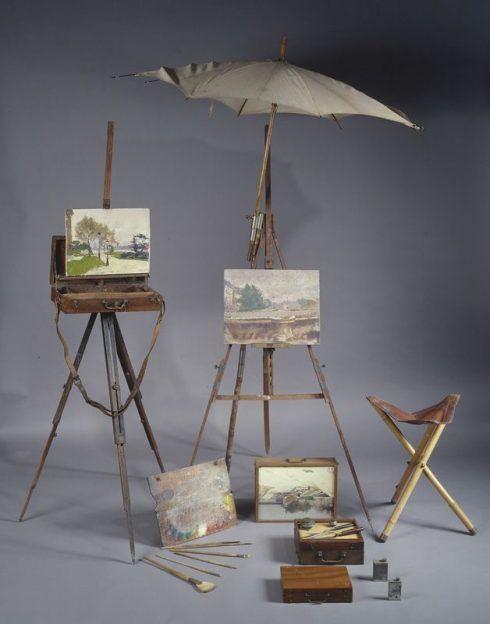 Freilichtmalerei-Ausstattung des Malers Jules-Ernest Renoux, Petit Palais, Musée des Beaux-Arts de la Ville de Paris, Schenkung von Anne-Marie Renoux, 2001 © Foto: Parisienne de Photographie.