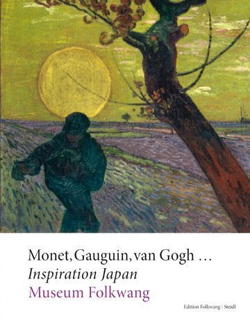 Monet, Gauguin, van Gogh …. Inspiration Japan, Cover (Steidl Verlag)
