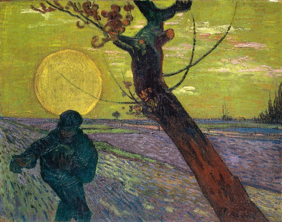 Vincent van Gogh, Sämann bei Sonnenuntergang, 1888, Stiftung Sammlung E. G. Bührle, Zürich © Foto: SIK Zürich (J. P. Kuhn).