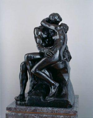 Auguste Rodin, Der Kuss, um 1882–1887, (Modell), Bronze © The National Museum of Western Art, Tokyo. Matsukata Collection.