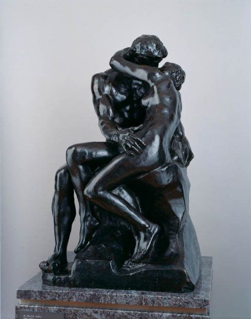 Auguste Rodin, Der Kuss, um 1882–1887, (Modell), Bronze © The National Museum of Western Art, Tokyo. Matsukata Collection.