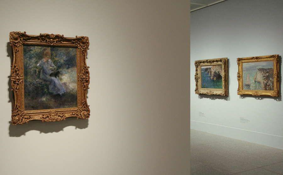 Japans Liebe zum Impressionismus: Renoir und Monet, Installationsfoto: Alexandra Matzner.