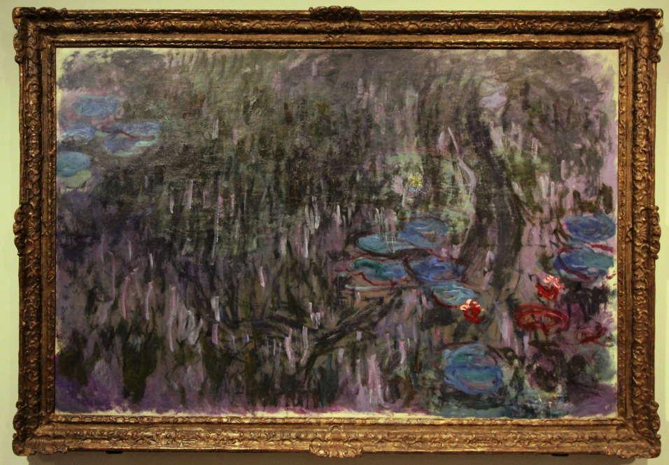 Claude Monet, Seerosen (Nymphéas), 1908, Öl auf Leinwand, 101 × 90cm, Tokyo Fuji Art Museum, Hachiōji.