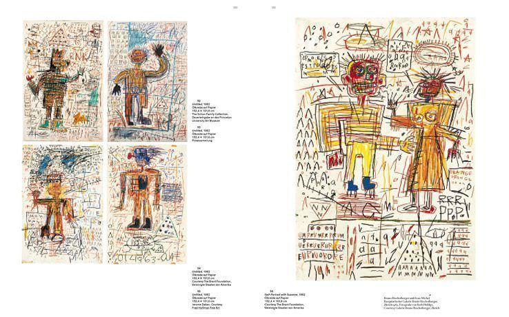 Jean-Michel Basquiat von Hatje Cantz, 2010, S. 74-75.