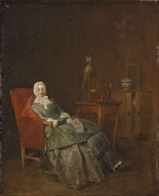 Jean Siméon Chardin, Häusliche Freuden, 1746, 42,5 x 35 cm (Nationalmuseums, Stockholm, NM 786)