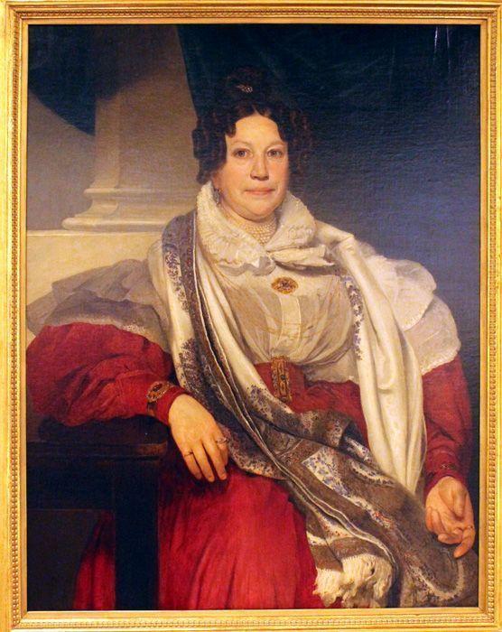 Johann Baptist Reiter, Bildnis Barbara Meyer, 1836, Belvedere, Wien, Foto: Alexandra Matzner.