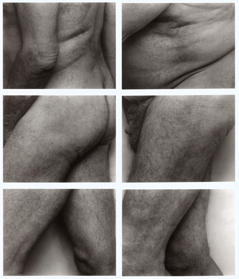 John Coplans, Frieze No. 6, 1994, Silbergelatinepapier (Albertina, Wien).