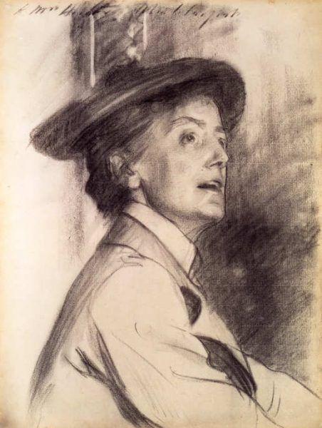 John Singer Sargent, Dame Ethel Smyth, 1901 © National Portrait Gallery, London.