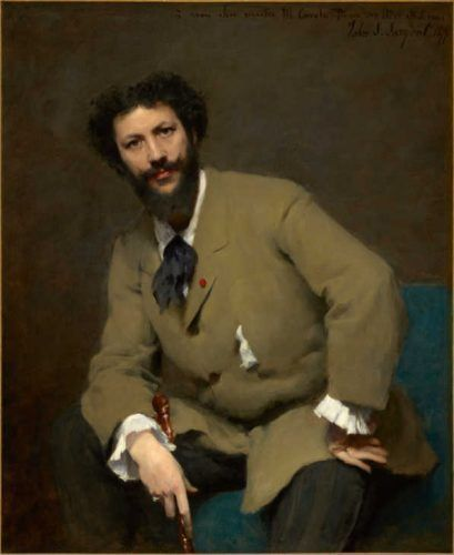 John Singer Sargent, Carolus-Duran, 1879 © Sterling and Francine Clark Art Institute, Williamstown, Massachusetts, USA (photo by Michael Agee).