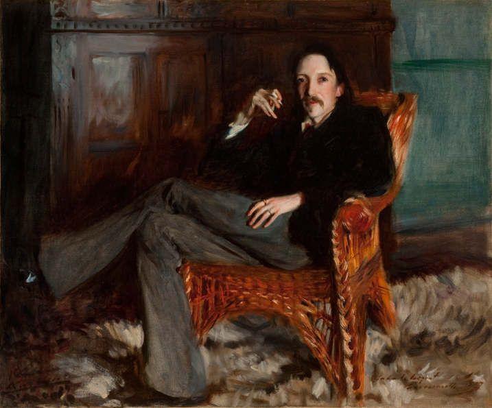 John Singer Sargent, Robert Louis Stevenson, 1887 © Courtesy of the Taft Museum of Art, Cincinnati, Ohio.