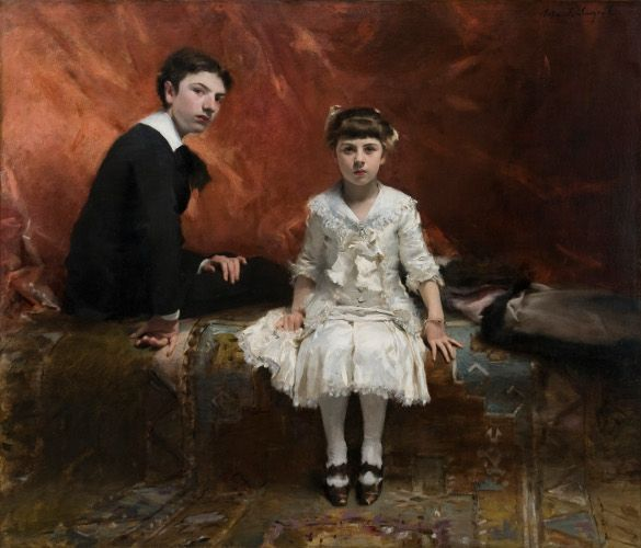 John Singer Sargent, Édouard und Marie-Louise Pailleron, 1881, © Des Moines Art Center, Des Moines, Iowa.