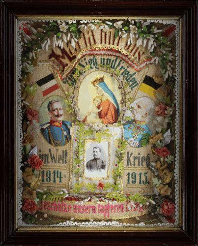 Maria hilf uns - beschütze unseren tapferen Krieger, Wien, Judit Zeller.