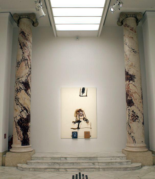 Jürgen Messensee, Margarita Theresa von Österreich, 1992, Installationsfoto: Alexandra Matzner.