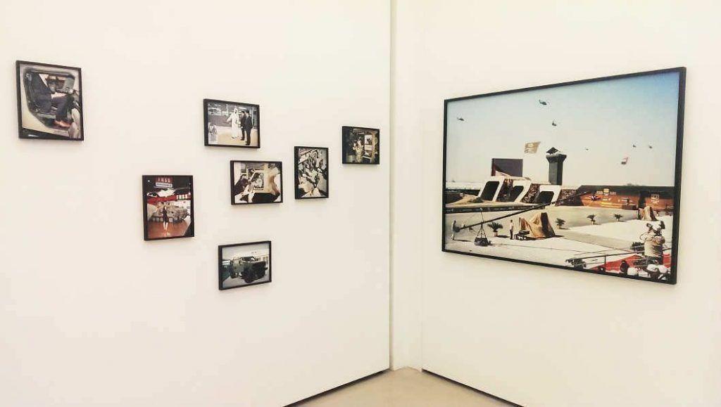 Julian Röder, World of Warfare, 2011, Ausstellungsansicht MUSA 2016, Foto: Alexandra Matzner.