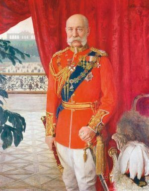 Tom von Dreger, Kaiser Franz Joseph I., 1913, Öl auf Leinwand, 140 x 110 cm (© Belvedere, Wien)
