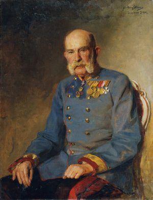 John Quincy Adams, Kaiser Franz Joseph I., 1914, Öl auf Leinwand, 107,5 x 83 cm (© Belvedere, Wien, Inv.-Nr. 2633)