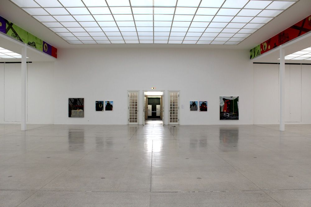 Kerry James Marshall, Installationsansicht Wiener Secession 2012, Foto: Alexandra Matzner.
