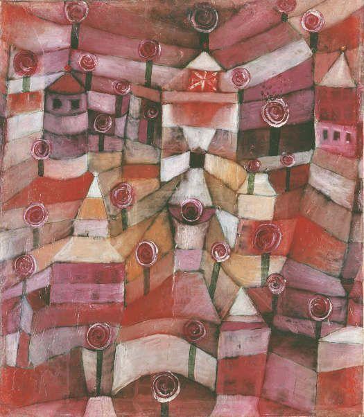 Paul Klee, Rosengarten, 1920, Städtische Galerie im Lenbachhaus und Kunstbau, München.