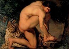 Nicolai Abildgaard (1743–1809), Der verwundete Philoctetes, 1775, Öl auf Leinwand, 123 x 175.5 cm © SMK Foto