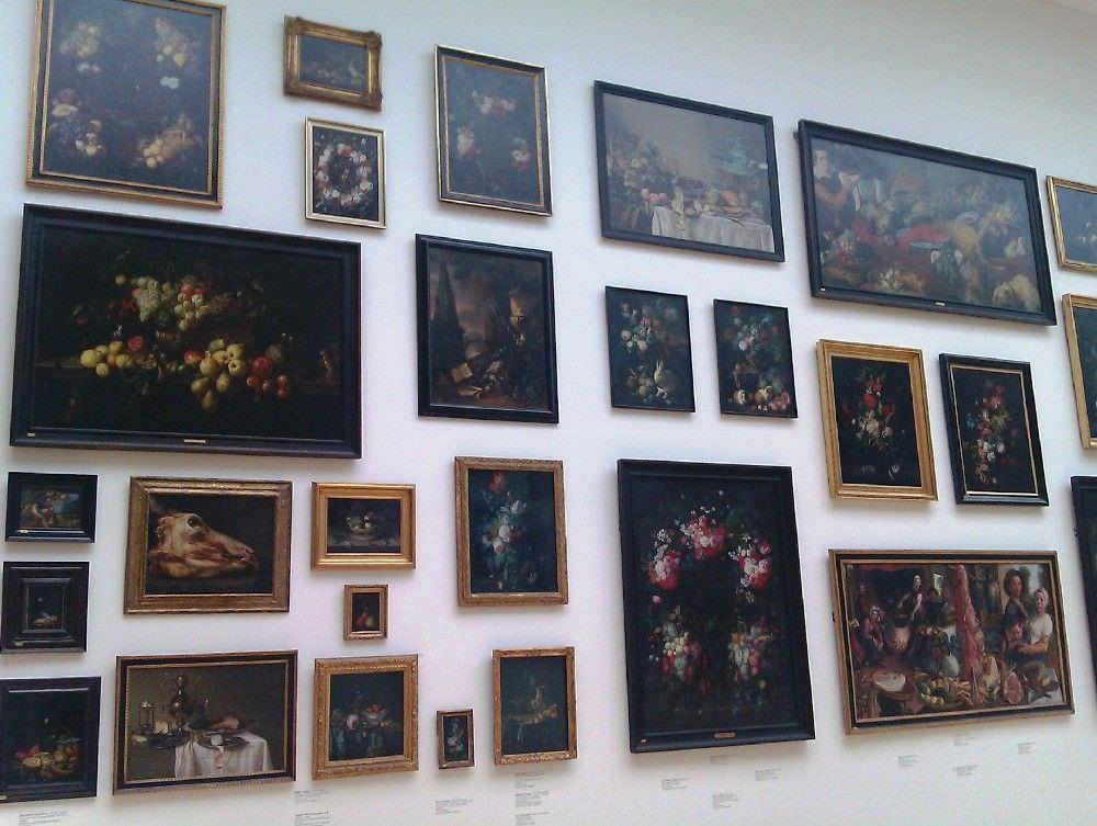 Kopenhagen, Nationalgalerie, Einblick in die Stillleben-Wand, 17. Jh. © Anna-Maria Matzner