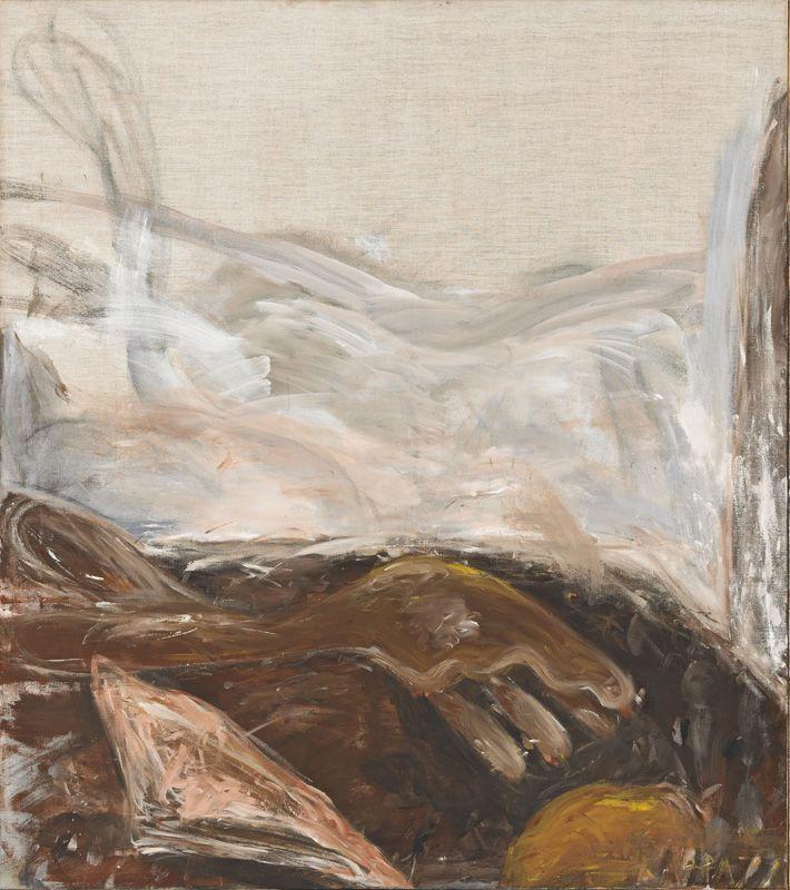 Kurt Kocherscheidt, Ohne Titel, 1977, Tempera auf Leinwand, 135 x 120 cm © Sammlung Essl Privatstiftung, Fotonachweis: Mischa Nawrata, Wien.