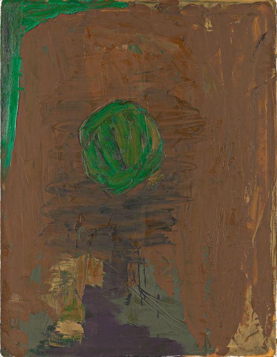 Kurt Kocherscheidt, Ohne Titel, 1991, Öl auf Leinwand, 130 x 100 cm © Sammlung Essl Privatstiftung, Fotonachweis: Mischa Nawrata, Wien.