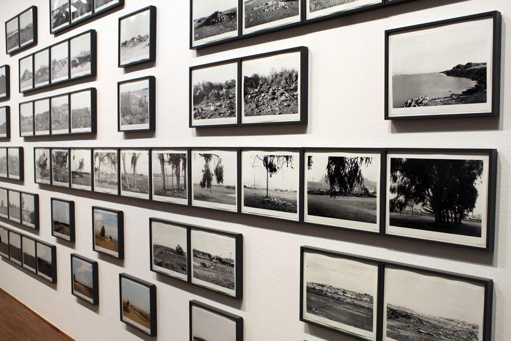 """Lewis Baltz, Candlestick Point, 1987-1989, Detail, Installationsansicht der Albertina """"Lewis Baltz"""" 2013, Foto: Alexandra Matzner."""
