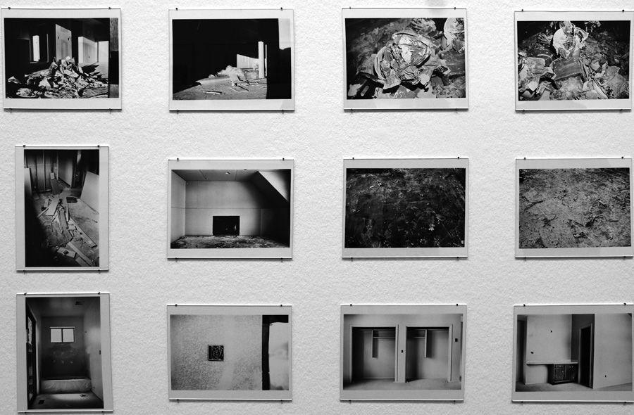 """Lewis Baltz, Park City, 1987-1980, Detail, Installationsansicht der Albertina """"Lewis Baltz"""" 2013, Foto: Alexandra Matzner."""