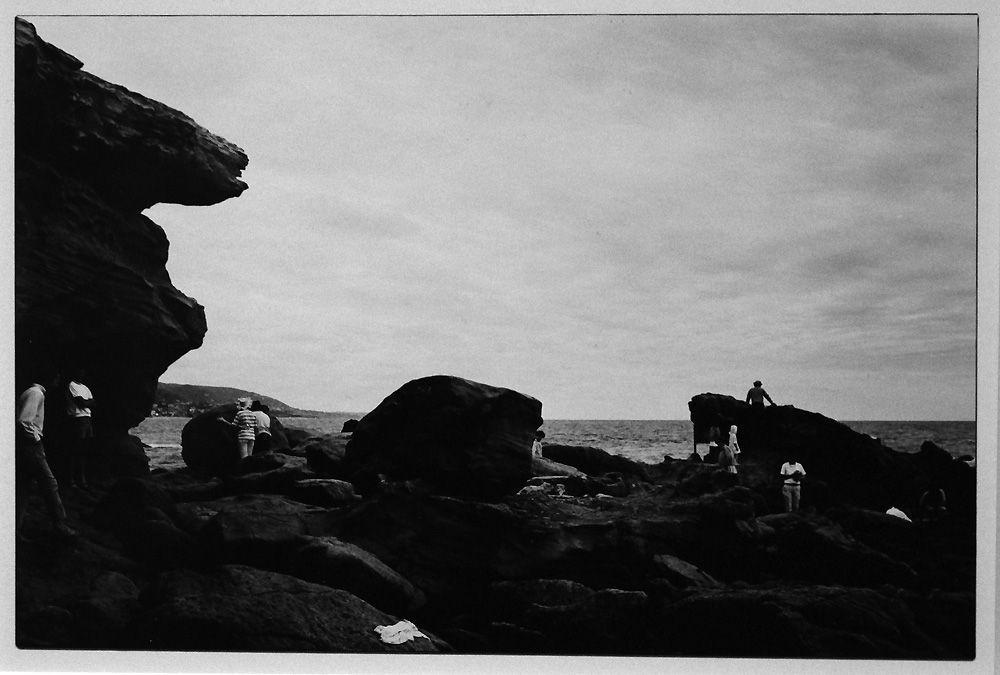 """Lewis Baltz, The Prototype Works, Laguna Beach, 1969, Silbergelatinepapier, Privatsammlung, Installationsansicht der Albertina """"Lewis Baltz"""" 2013, Foto: Alexandra Matzner."""