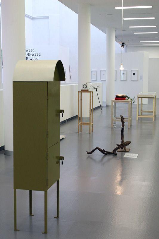 Lois Weinberger, Installationsansicht.