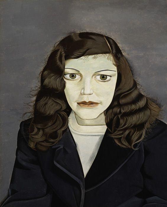 Lucian Freud, Girl in a dark Jacket, 1947, Privatsammlung © The Lucian Freud Archive / The Bridgeman Art Library.