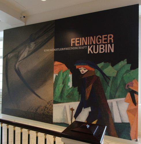 Feininger / Kubin in der Albertina