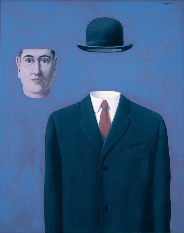 René Magritte, Der Pilger, 1966, Öl auf Leinwand, Sammlung Mr. und Mrs. Wilbur Ross © Charly HERSCOVICI Brüssel - 2011.