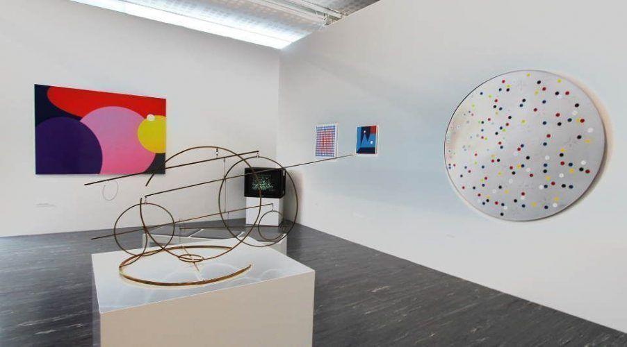 Abstract Loop Austria im 21er Haus, 2016, Installationsansicht: Alexandra Matzner.
