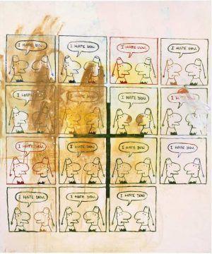 Martin Kippenberger, Ohne Titel (aus der Serie Fred the frog), 1990, Privatsammlung © Estate of Martin Kippenberger, Galerie Gisela Capitain, Cologne