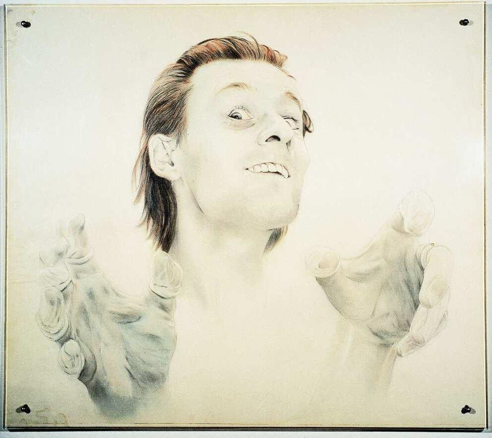 Martin Kippenberger, Ohne Titel (Selbstporträt), 1975/76, Privatsammlung © Estate of Martin Kippenberger, Galerie Gisela Capitain, Cologne