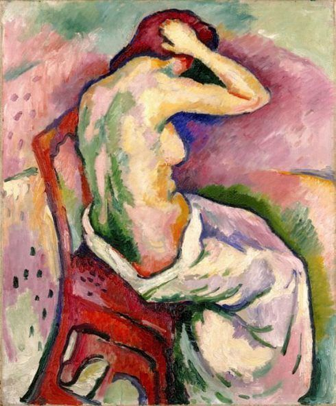 Georges Braque, Sitzender Akt, 1906, Milwauee Art Museum © VBK, Wien 2013.