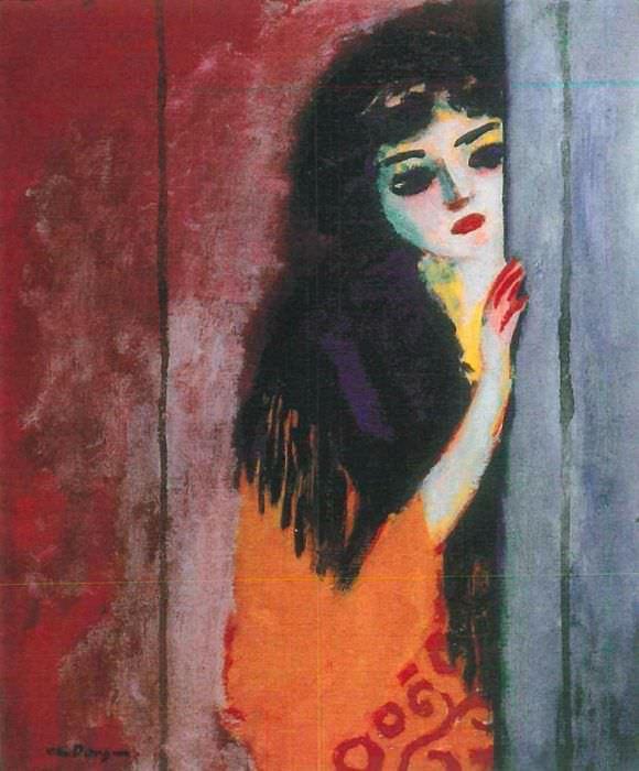 Kees van Dongen, Die Zigeunerin, um 1910-11, L`Annonciade, Musée de Saint-Tropez © VBK, Vienna 2013.