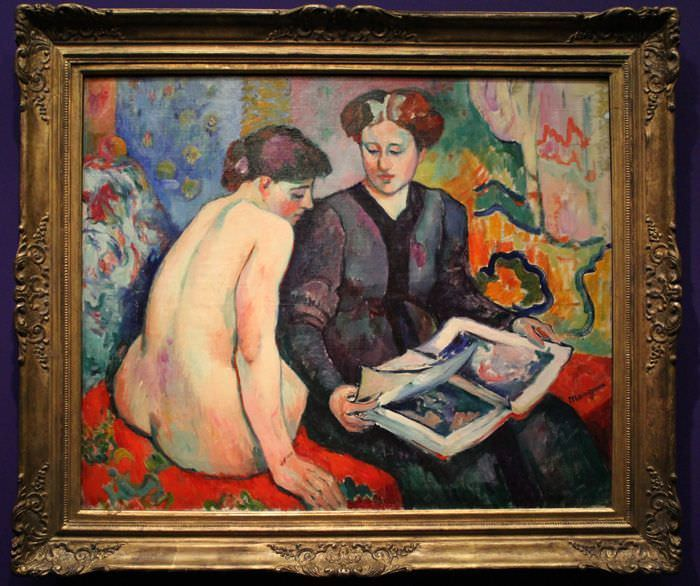 Henri Manguin, Das Grafikalbum, 1905 (Collection Carmen Thyssen-Bornemisza, Leihgabe an das Museum Thyssen-Bornemisza, Madrid) , Foto: Alexandra Matzner.