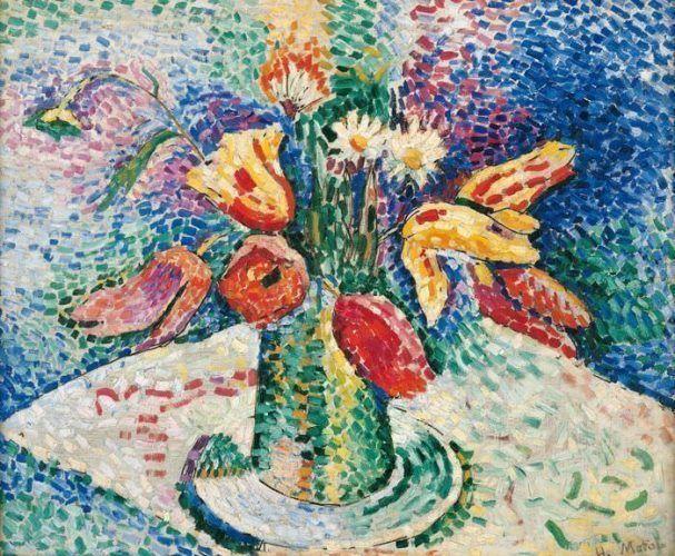 Henri Matisse, Papageien-Tulpen, 1905, Albertina, Sammlung Batliner © Succession H. Matisse/VBK, Wien 2013.