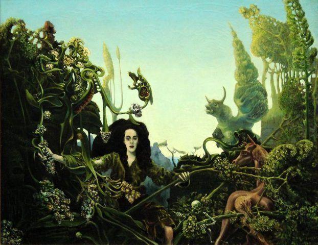 Max Ernst, Urwald
