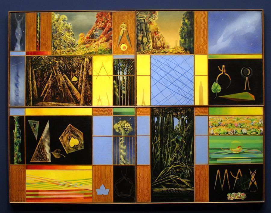 Max Ernst, Vox Angelica, 1945, 205 x 152 cm.