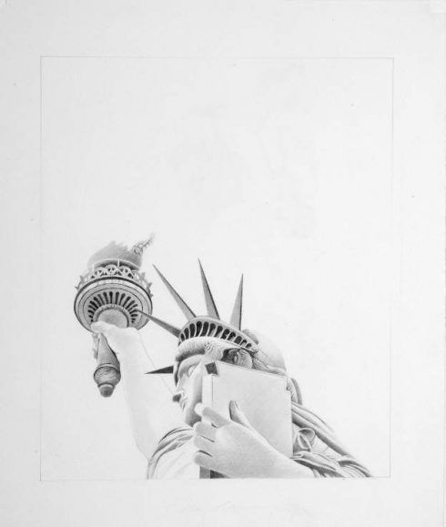 Mel Ramos, Statue Study #1, 1978, Mel Ramos Studio.