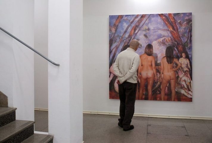 Michael Snow, Paris de jugement Le and or State of the Art © Secession 2012, Foto: Wolfgang Thaler.