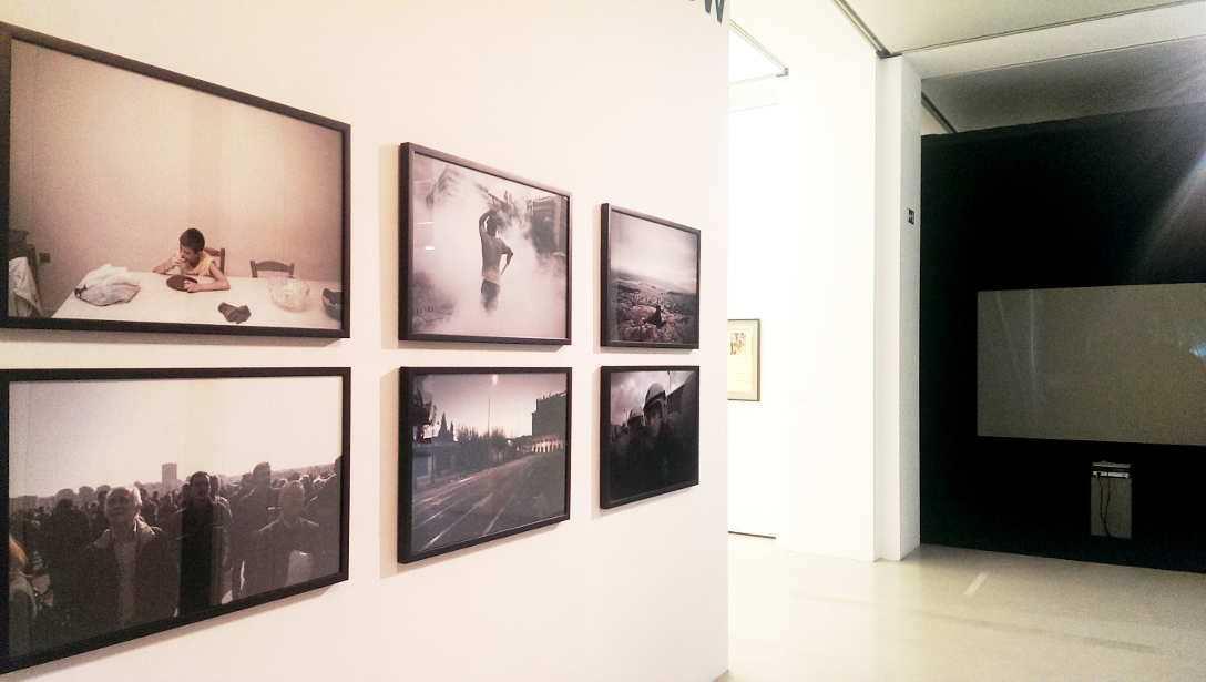 Dimitris Michalakis, Ausstellungsansicht MUSA 2016, Foto: Alexandra Matzner.