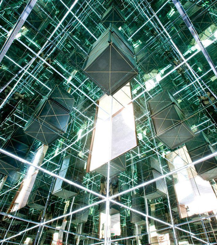 Michelangelo Pistoletto, Metrocubo d'Infinito in un Cubo Specchiante, Courtesy Galleria Continua, San Gimignano / Beijing / Le Moulin Photo: Enrico Amici.