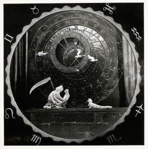 Richard Teschner (1879–1948), Die Lebens-Uhr, 1935 © Österreichisches Theatermuseum.