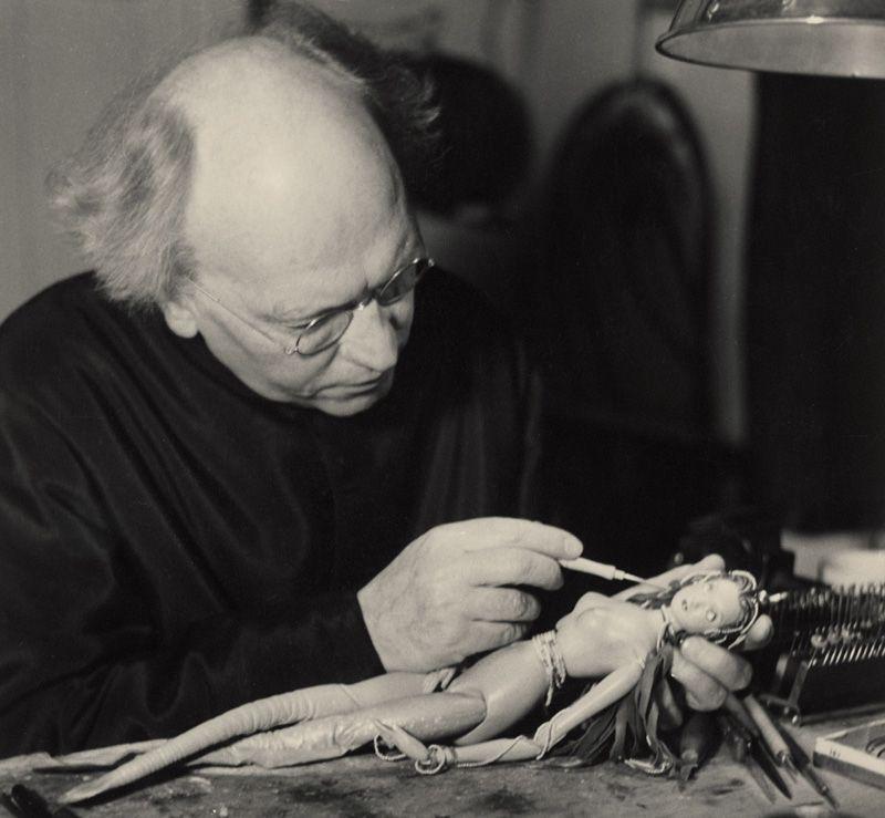 Richard Teschner (1879–1948), 1941 © Österreichisches Theatermuseum.