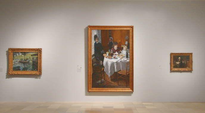 Claude Monet (1840-1926), installationsansicht, Foto: Alexandra Matzner.